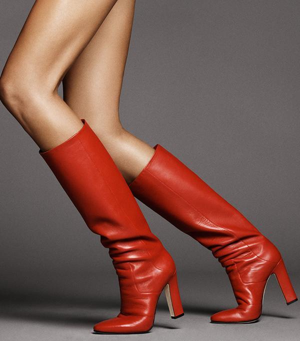 Tamara Mellon Lust Knee High 105 in Nappa