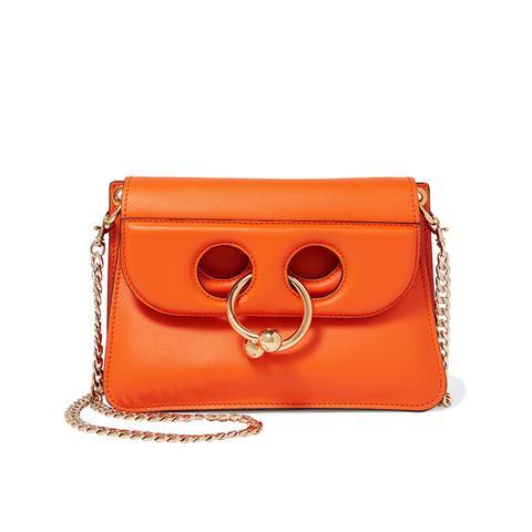 Pierce Mini Leather Shoulder Bag