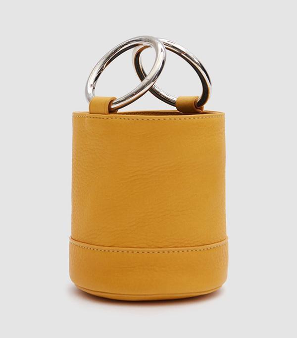 Simon Miller Bonsai 15 cm Bag in Saffron