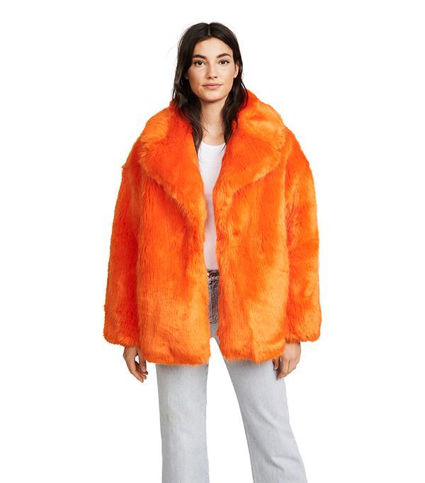 Diane von Furstenburg Collared Jacket