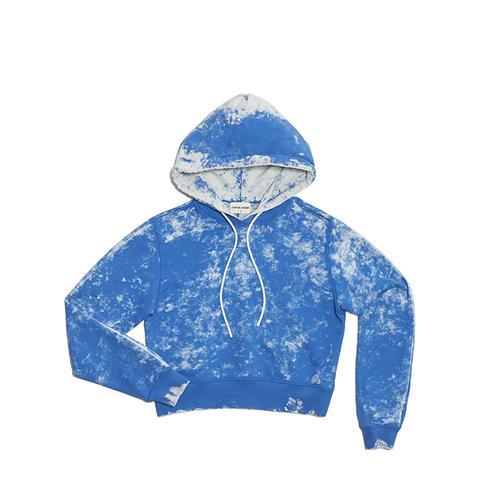 Milan Crop Pullover Hoodie