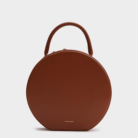 Circle Bag in Saddle