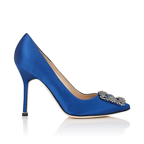 22 blue shoes to wear on your wedding day whowhatwear hangisi pumps junglespirit Image collections