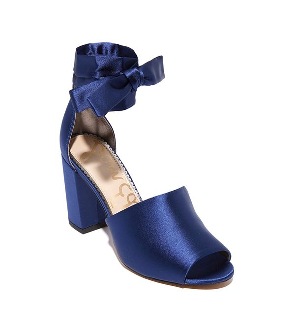 22 blue shoes to wear on your wedding day whowhatwear odele sandals junglespirit Image collections