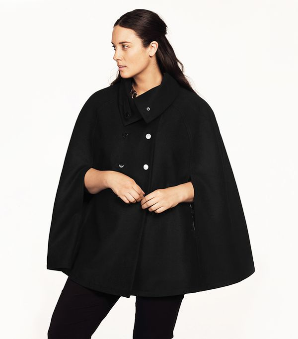 how to style a black cape