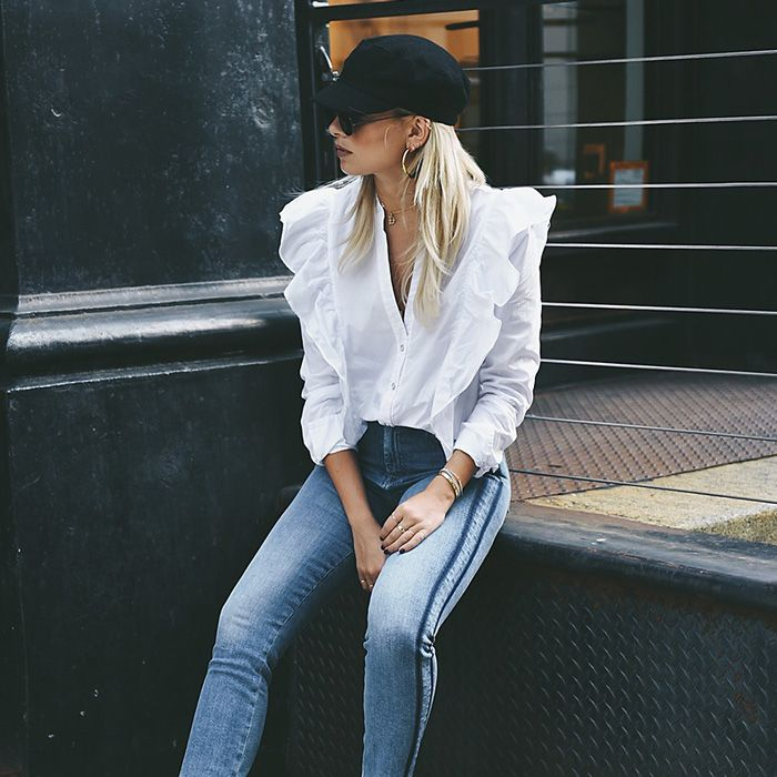 This Instagram It Girl Just Designed Your New Favorite Jeans