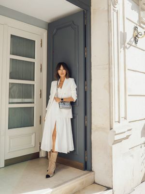 The Chicest Winter-White Outfit to Try This Season