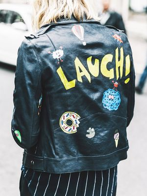 The Leather Jacket Trend We Want to Become a Thing