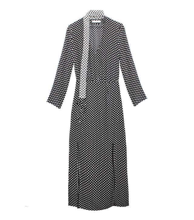 Star print dress: Rixo star dress