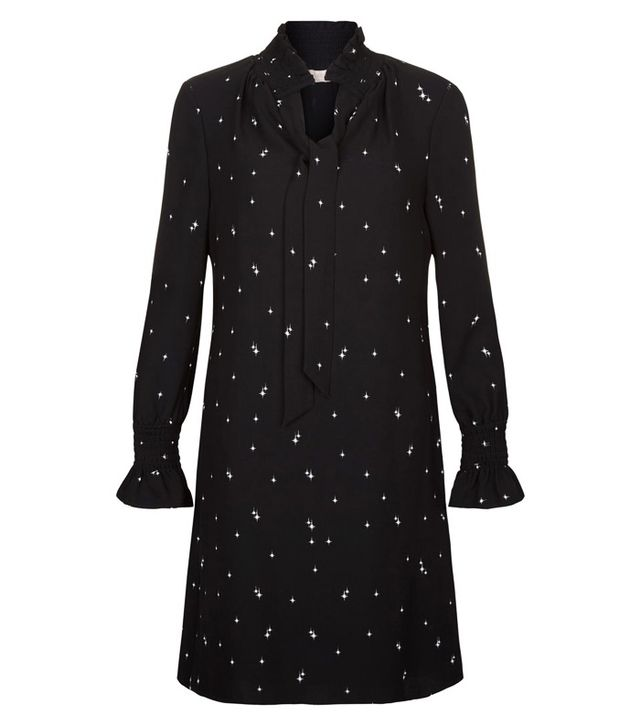 Star print dress: Hobbs star dress