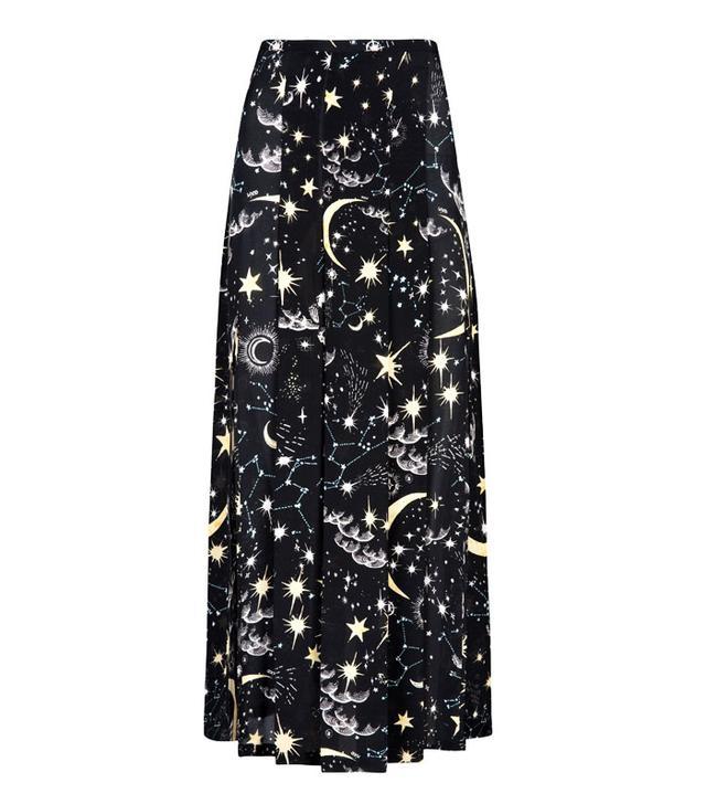 Star print dress: Rixo Moonlit Sky