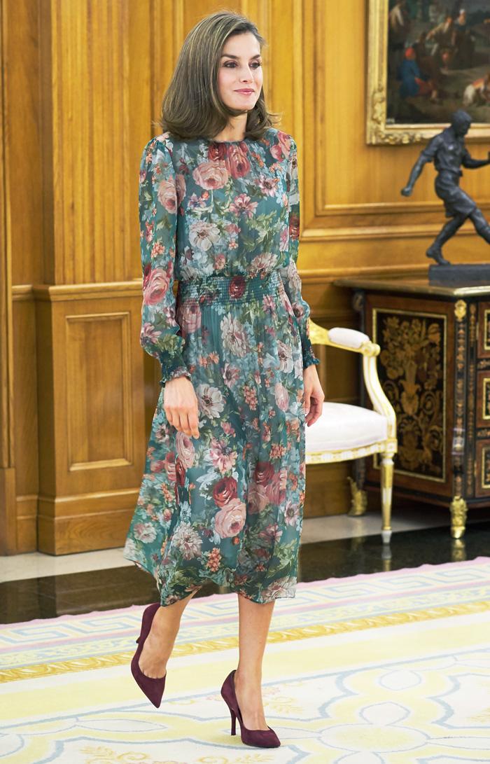 Queen Letizia Zara Dress