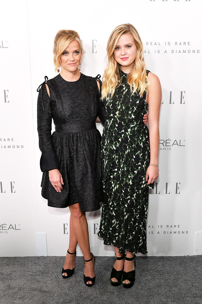 reese witherspoon and ava phillippe, red carpet