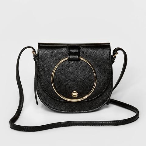 Ring Mini Crossbody Handbag