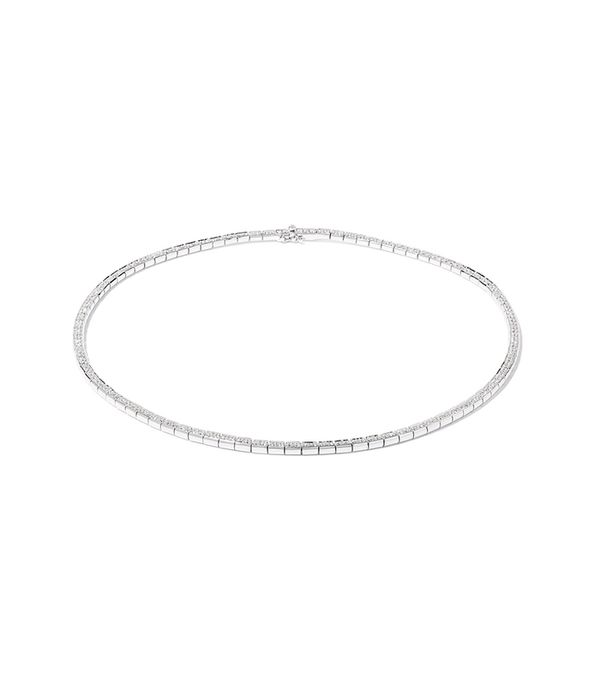 18-karat White Gold Diamond Necklace