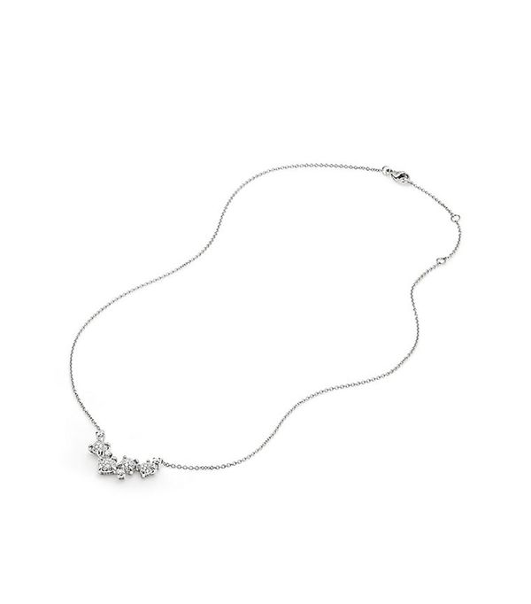 David Yurman Precious Chatelaine® Necklace With Diamonds In 18K White