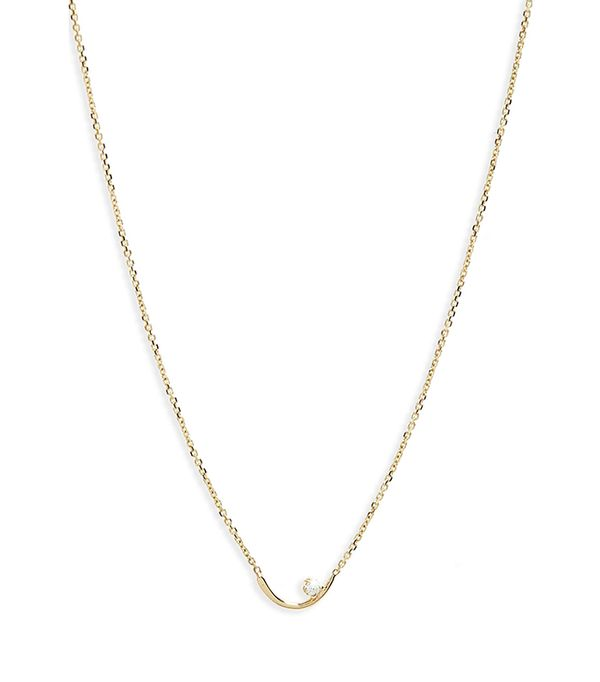 Women's Wwake Arc Lineage Necklace