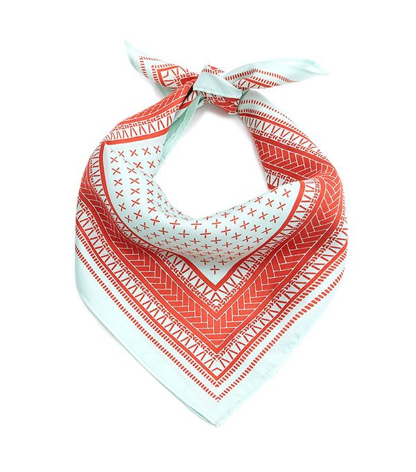 A Peace Treaty Clemente Turquoise Scarf