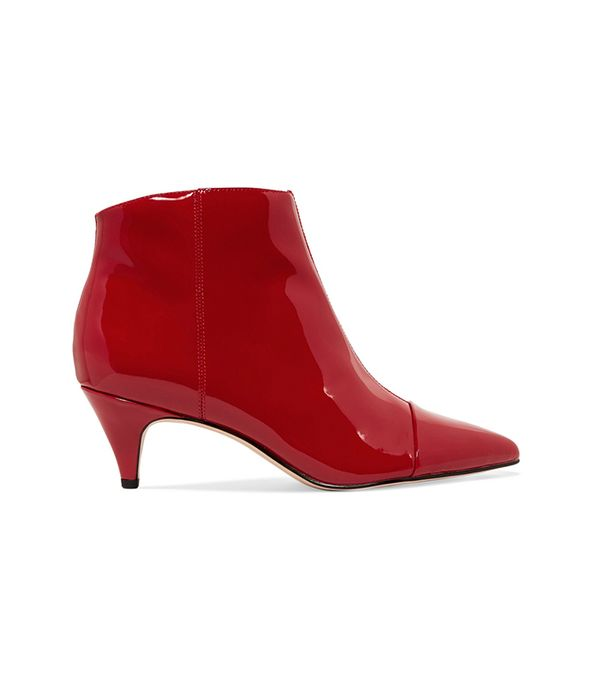Farley Boot in Red. - size 9.5 (also in 5.5,6,6.5,7.5,8,8.5,9)
