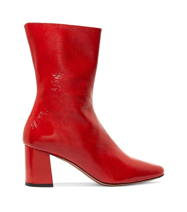 Crawford Bootie in Red. - size 40 (also in 36,38)