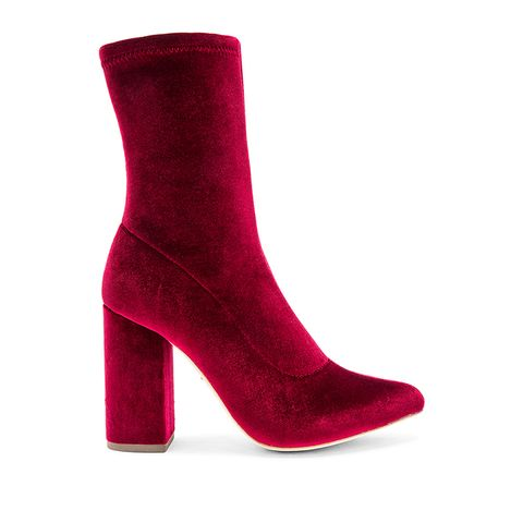 Faris Booties in Red
