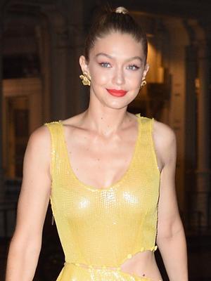 Gigi Hadid Perfectly Channeled This Disney Princess Last Night