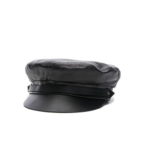 Leather Fiddler Hat