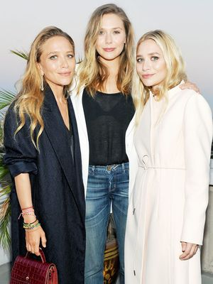 This Olsen Just Wore Skinny Jeans and a Tee to a Glitzy Chanel Event