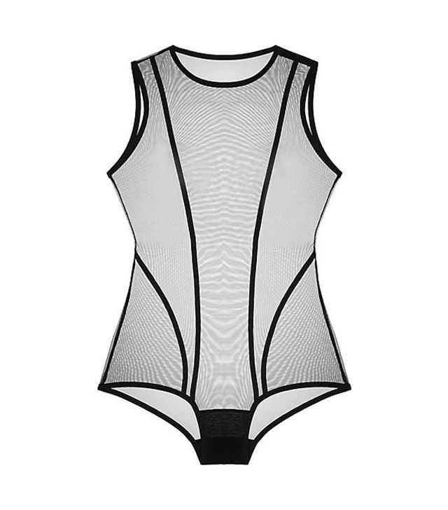 Taryn Winters Karmay High Neck Bodysuit