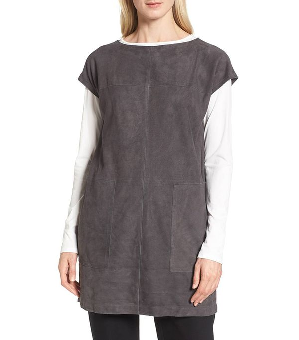 Suede Tunic