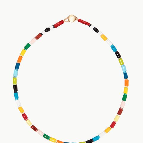 Rainbow Brite U-Tube Necklace