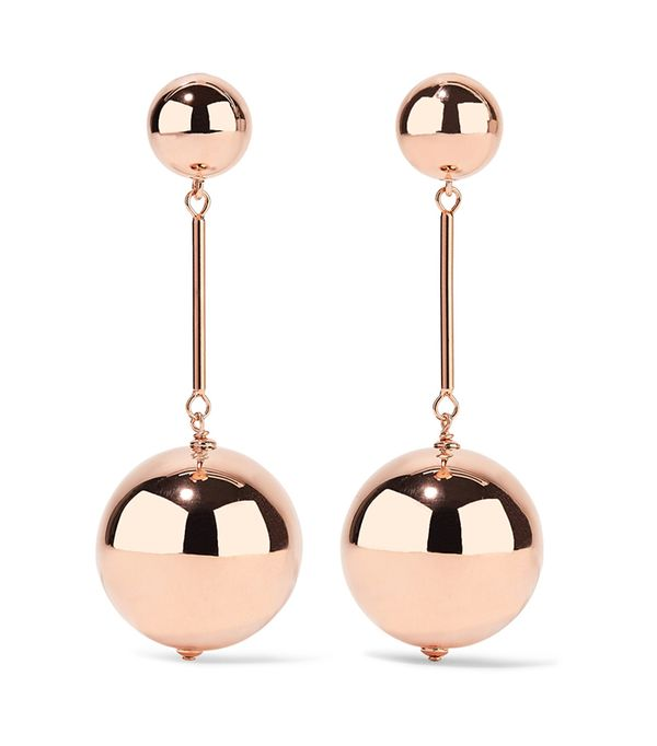 Rose Gold-tone Earrings