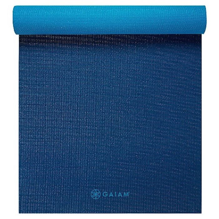 2-Color Yoga Mat by Gaiam