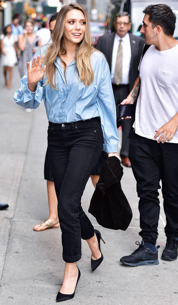 Elizabeth Olsen shoes