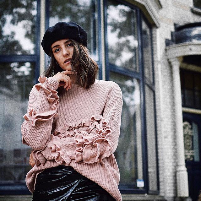 statement top, outfit