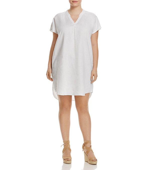 Short Sleeve Linen Dress - 100% Exclusive