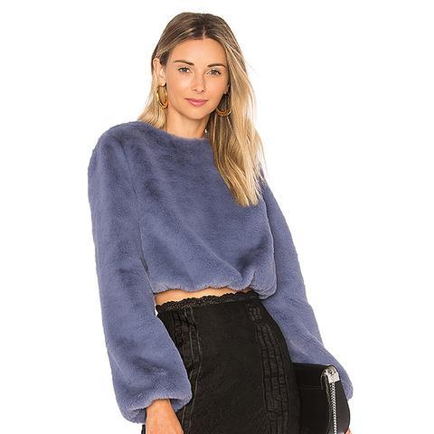 Teagan Faux-Fur Sweater