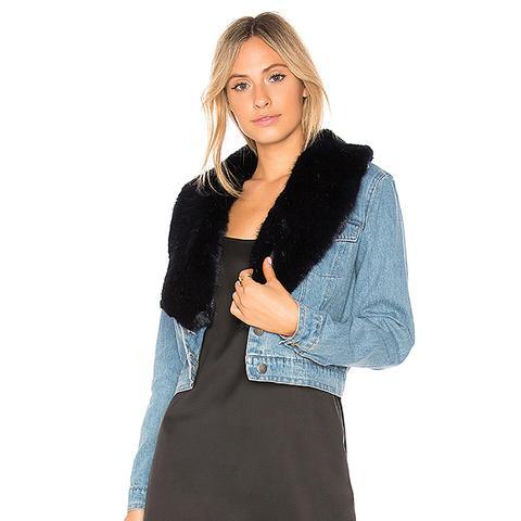 Mia Faux-Fur Jacket