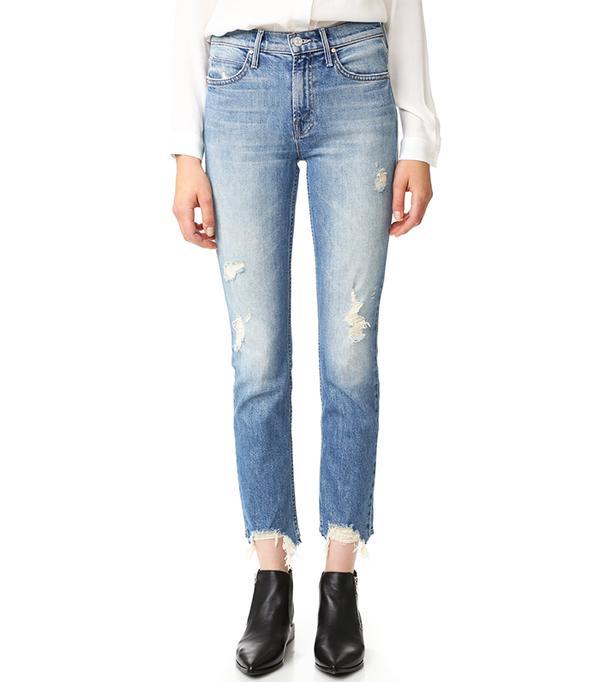 The Flirt Fray Rigid Jeans