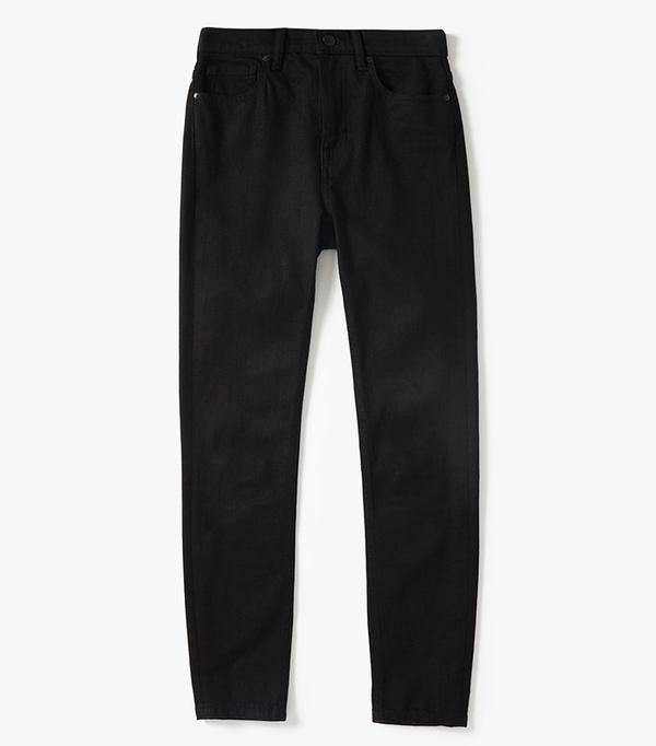 Women's High-Rise Skinny Jean (Regular) by Everlane in Stay Black, Size 30