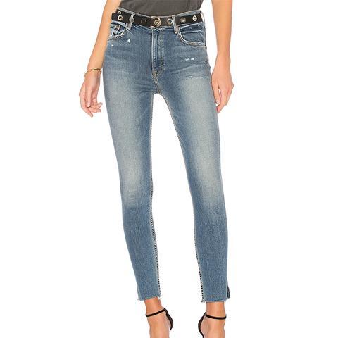 Kendall Super Stretch High-Rise Skinny Jean.