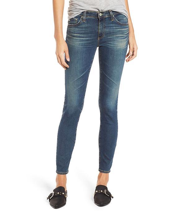Women's Ag The Legging Ankle Jeans