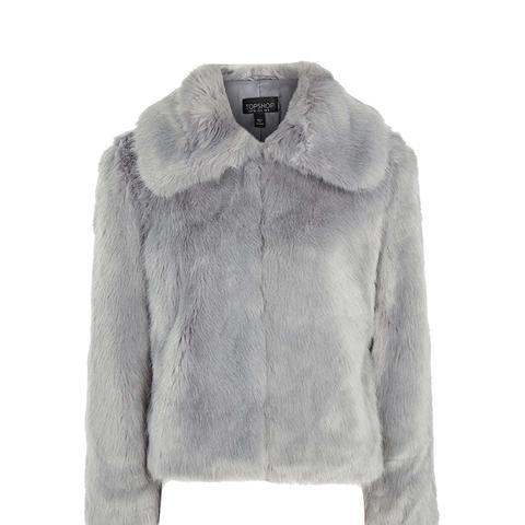 Claire Luxe Faux Fur Coat