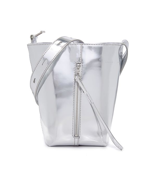 Mirrored Panel Pail Bag