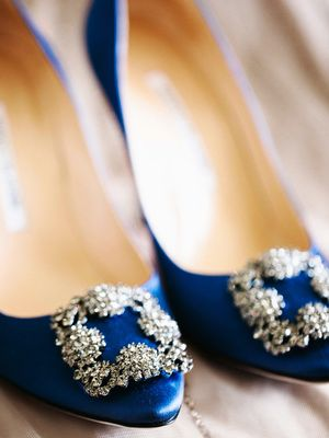 Blue Shoes to Wear on Your Wedding Day