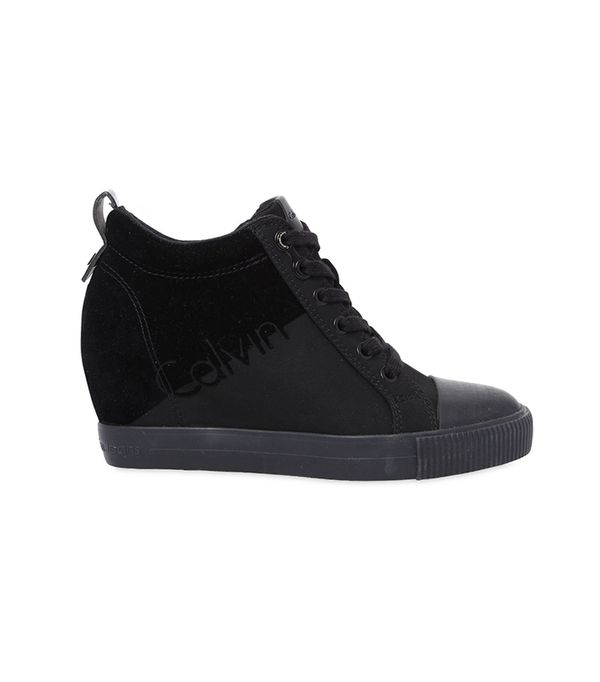 Calvin Klein Jeans 70mm Rory Nylon Wedged Sneakers