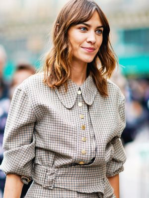 Alexa Chung Just Wore the Perfect Party Dress—and It's From H&M