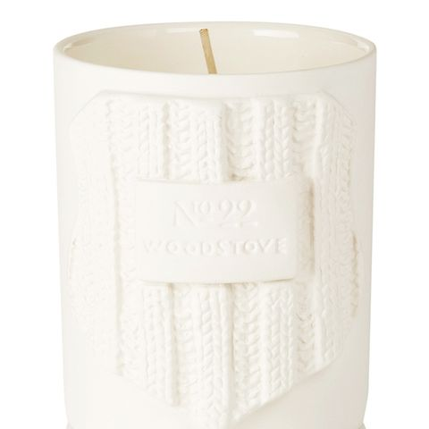 Woodstove Scented Candle