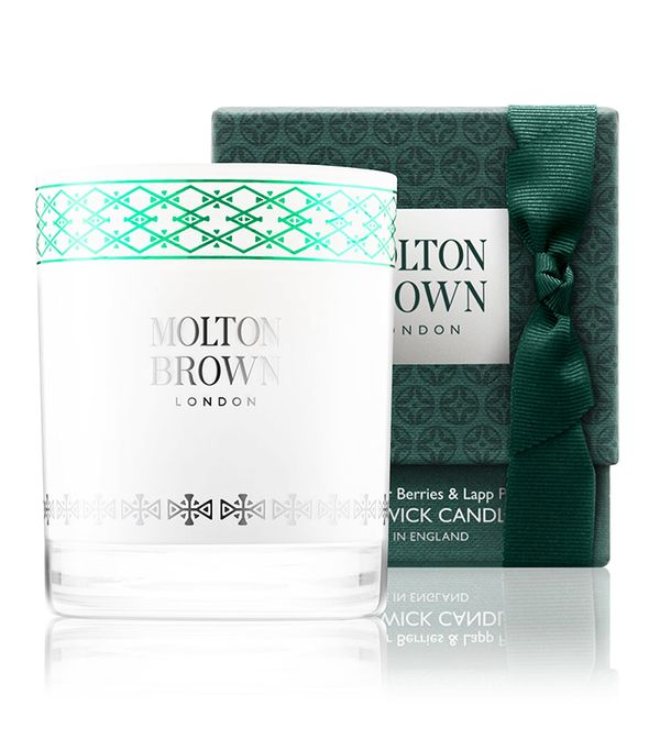 Winter candles: Molton Brown Fabled Juniper Berries & Lapp Pine Single Wick Candle