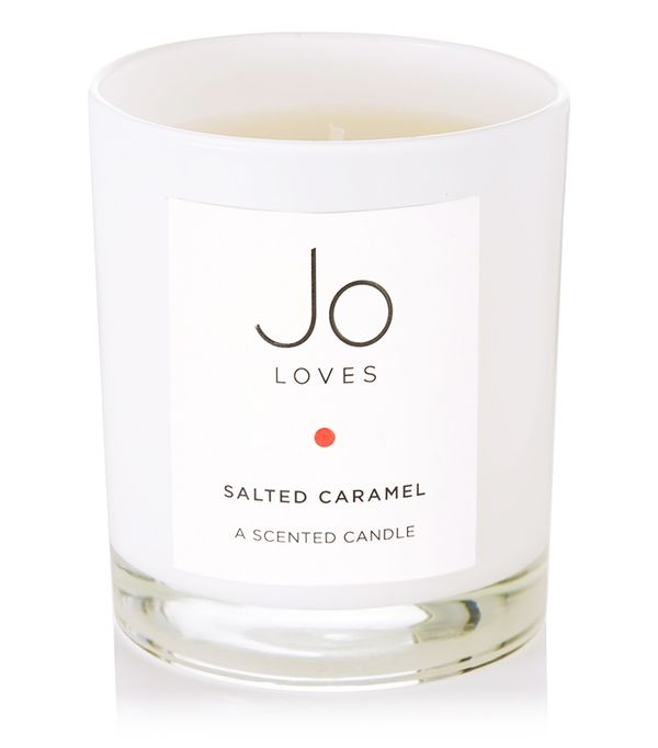 Winter candles: Jo Loves Salted Caramel Scented Candle